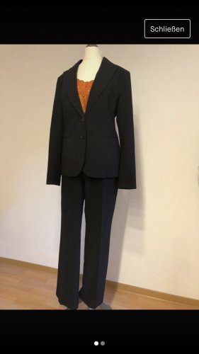 H&M Business Suit black