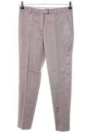 H&M Pantalón de vestir blanco puro look casual