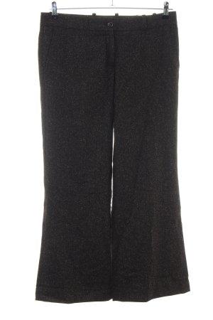 H&M Anzughose schwarz meliert Business-Look