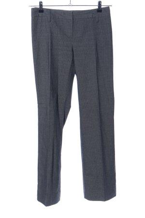 H&M Anzughose hellgrau meliert Business-Look