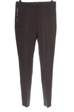 H&M Pantalone da abito marrone stile professionale