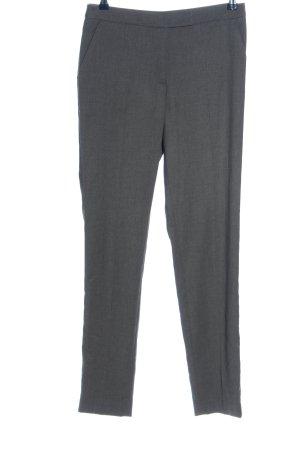 H&M Spodnie garniturowe jasnoszary Melanżowy W stylu biznesowym