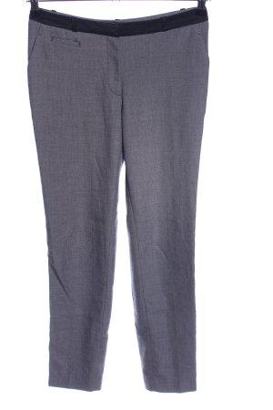 H&M Pantalón de vestir gris claro moteado look casual