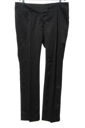 H&M Spodnie garniturowe czarny W stylu casual
