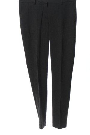 H&M Spodnie garniturowe czarny W stylu biznesowym