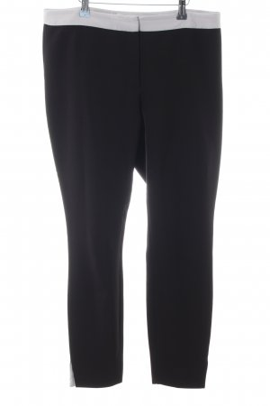 H&M Pantalón de vestir negro-gris claro look casual