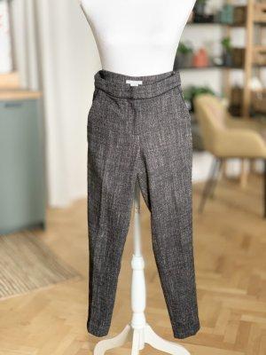 H&M Anzughose Wolle grau Tweed Stoff 32 XXS