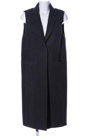 H&M Anzugweste schwarz meliert Business-Look