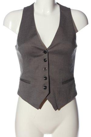 H&M Chaleco de vestir gris claro estilo «business»