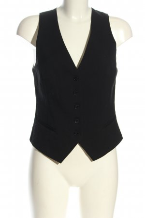 H&M Gilet de costume noir style décontracté