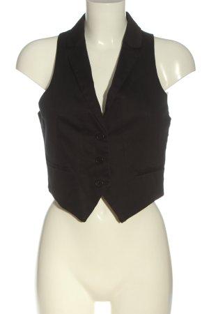H&M Waistcoat black business style