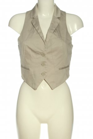 H&M Waistcoat light grey elegant