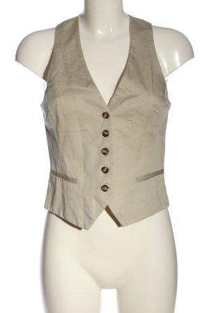 H&M Chaleco de vestir blanco puro estilo «business»