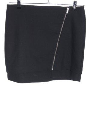 H&M Asymetryczna spódniczka czarny W stylu casual