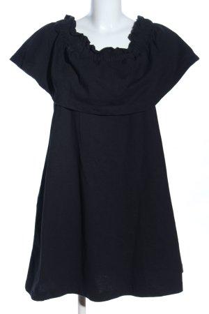 H&M Babydollkleid schwarz Casual-Look