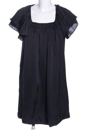 H&M Vestido babydoll negro elegante