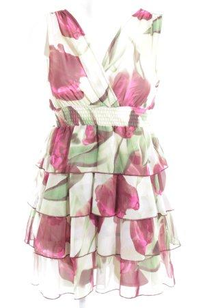 H&M Vestido babydoll multicolor look casual