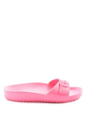 H&M Chaussons de bain rose style décontracté