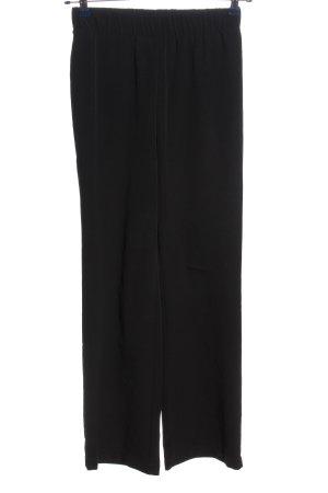 H&M Baggy broek zwart zakelijke stijl