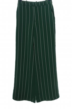 H&M Baggy Pants green-white allover print casual look