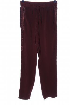 H&M Baggy Pants red casual look