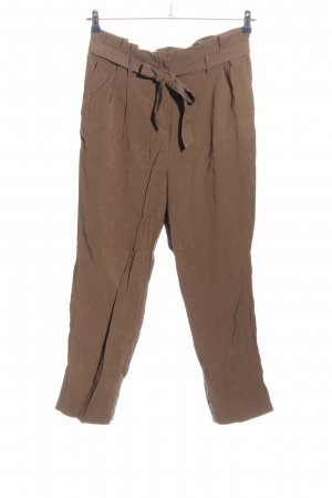 H&M Baggy Pants braun Casual-Look