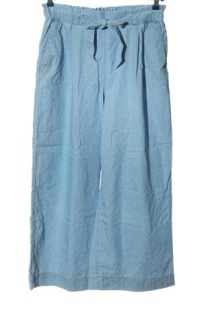 H&M Luźne spodnie niebieski W stylu casual