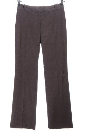 H&M Baggy broek lichtgrijs zakelijke stijl