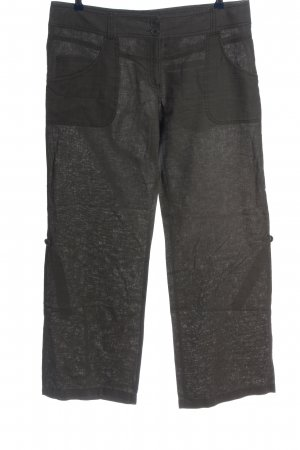 H&M Baggy Pants braun meliert Casual-Look