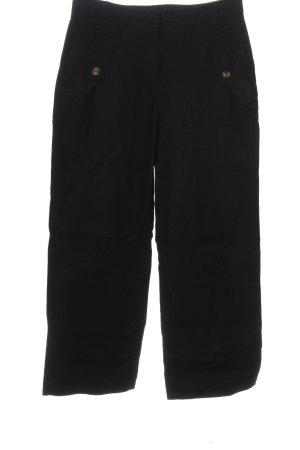 H&M Luźne spodnie czarny W stylu casual