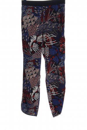 H&M Baggy Pants abstraktes Muster Casual-Look