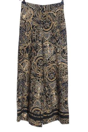 H&M Baggy Pants abstraktes Muster extravaganter Stil