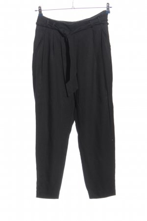H&M Baggy Pants schwarz Casual-Look