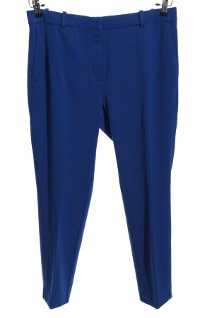 H&M Baggy Pants blau Business-Look