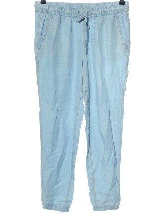 H&M Baggy Pants blau Casual-Look