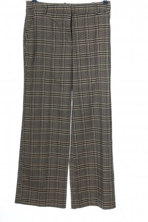 H&M Baggy Pants black-cream check pattern casual look