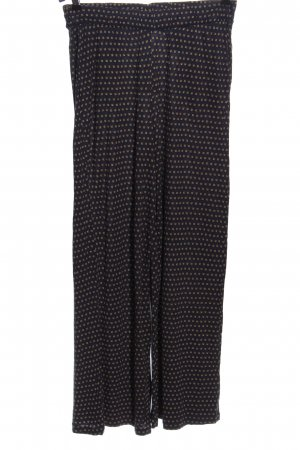 H&M Luźne spodnie niebieski Na całej powierzchni W stylu casual