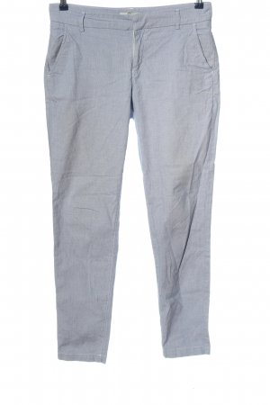H&M Baggy Pants blue-white abstract pattern casual look