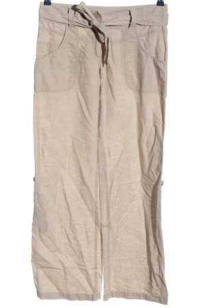 H&M Baggy Pants creme Casual-Look