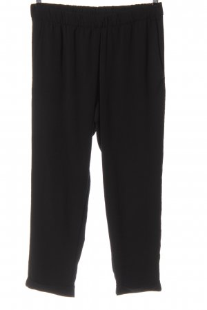 H&M Baggy Pants schwarz Casual-Look