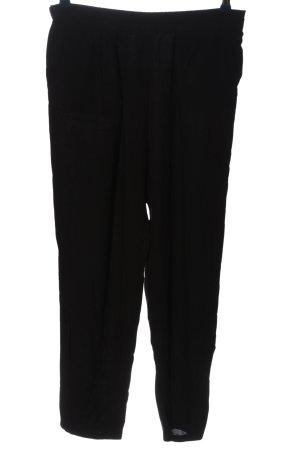 H&M Baggy broek zwart casual uitstraling