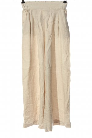 H&M Baggy Pants wollweiß Casual-Look