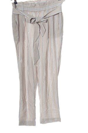 H&M Luźne spodnie Wzór w paski W stylu casual