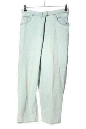 H&M Workowate jeansy niebieski W stylu casual