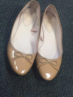 H&M Ballerina Slipper Gr.38 beige