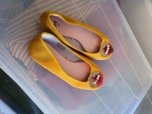 H&M Ballerinas Gr. 36/37 gelb ungetragen