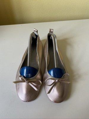 H&M Ballerinas Kupfer metallic Gr. 38 neu