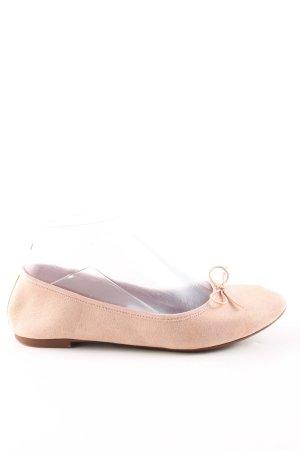 H&M Ballerinas mit Spitze nude Business-Look
