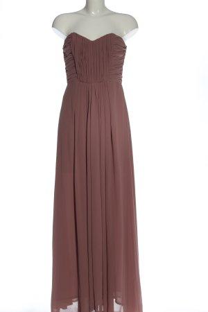 H&M Suknia balowa brązowy Elegancki
