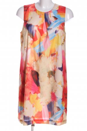H&M Balloon Dress flower pattern casual look